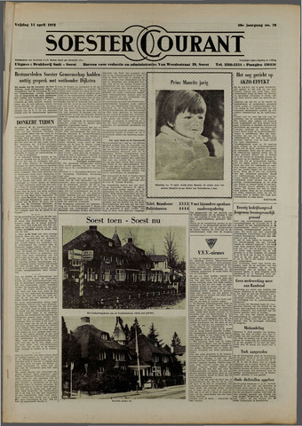 Soester Courant 1972-04-14