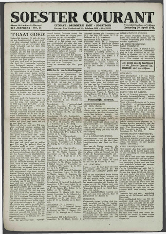 Soester Courant 1946-04-20