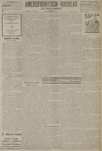 Amersfoortsch Dagblad / De Eemlander 1920-08-07