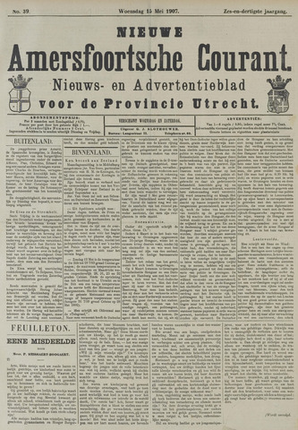 Nieuwe Amersfoortsche Courant 1907-05-15