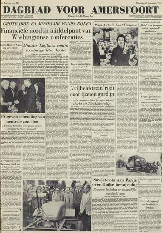 Dagblad voor Amersfoort 1951-09-12