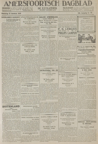 Amersfoortsch Dagblad / De Eemlander 1929-11-13