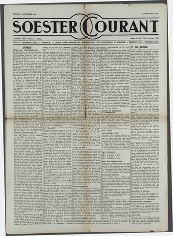 Soester Courant 1957-09-03