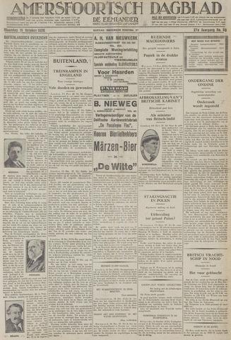 Amersfoortsch Dagblad / De Eemlander 1928-10-15