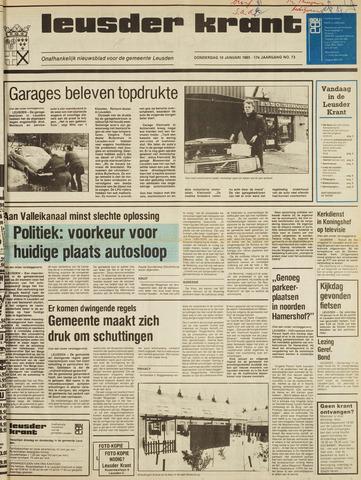 Leusder Krant 1985-01-10