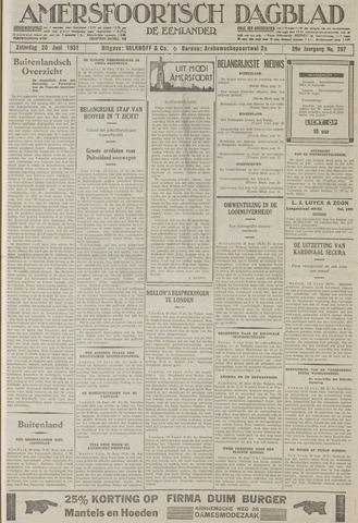 Amersfoortsch Dagblad / De Eemlander 1931-06-20