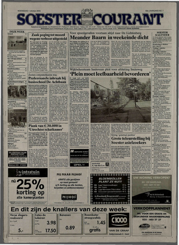 Soester Courant 2003-10-01