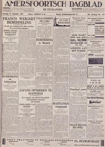 Amersfoortsch Dagblad / De Eemlander 1937-11-27