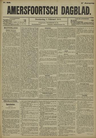 Amersfoortsch Dagblad 1905-02-09