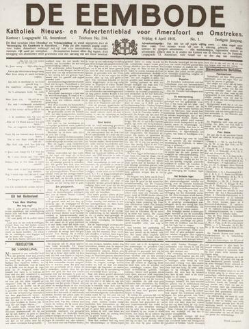 De Eembode 1916-04-04