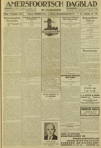 Amersfoortsch Dagblad / De Eemlander 1932-12-16