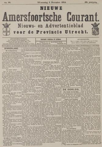 Nieuwe Amersfoortsche Courant 1914-12-09