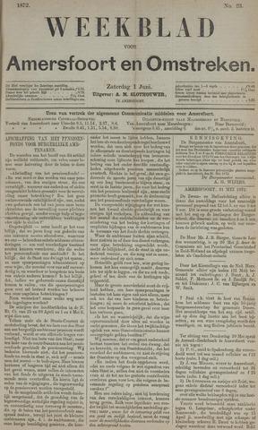 Weekblad voor Amersfoort en Omstreken 1872-06-01