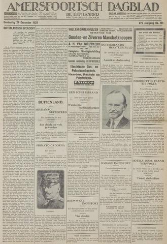 Amersfoortsch Dagblad / De Eemlander 1928-12-27