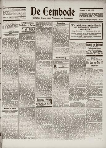 De Eembode 1933-07-18