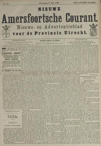 Nieuwe Amersfoortsche Courant 1896-05-27