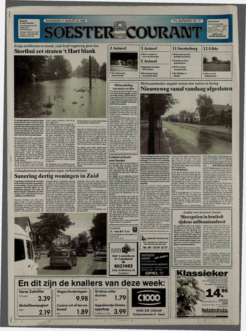 Soester Courant 1999-08-11