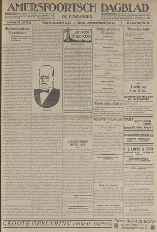Amersfoortsch Dagblad / De Eemlander 1933-07-29