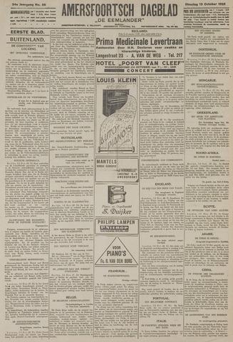 Amersfoortsch Dagblad / De Eemlander 1925-10-13