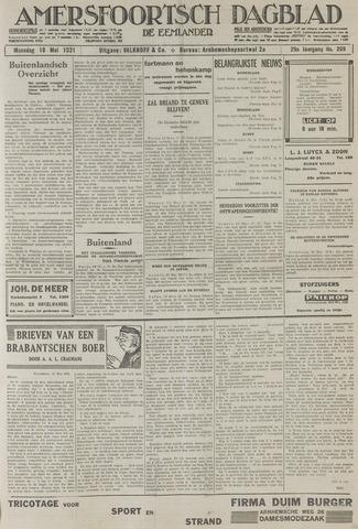 Amersfoortsch Dagblad / De Eemlander 1931-05-18