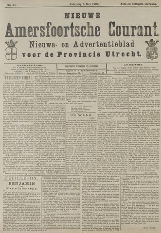 Nieuwe Amersfoortsche Courant 1909-05-08