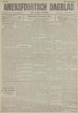 Amersfoortsch Dagblad / De Eemlander 1913-09-04