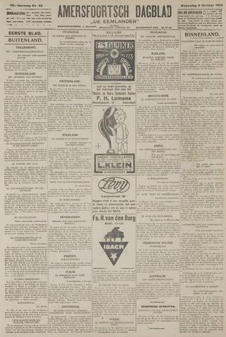 Amersfoortsch Dagblad / De Eemlander 1926-10-06
