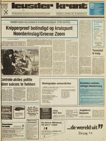 Leusder Krant 1983-12-01