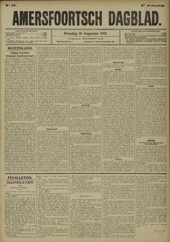 Amersfoortsch Dagblad 1910-08-16