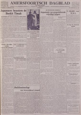 Amersfoortsch Dagblad / De Eemlander 1942-02-11