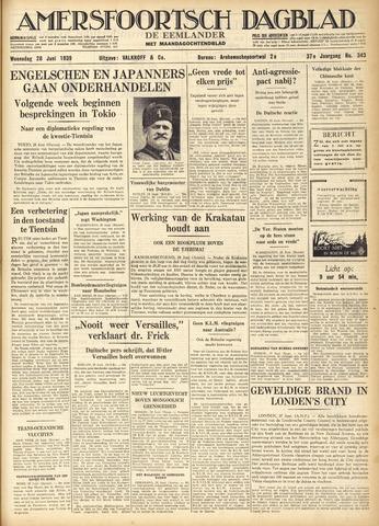 Amersfoortsch Dagblad / De Eemlander 1939-06-28
