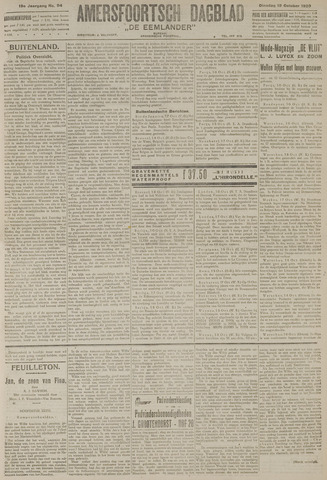 Amersfoortsch Dagblad / De Eemlander 1920-10-19