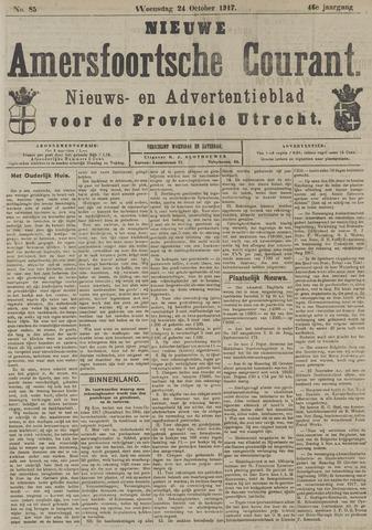 Nieuwe Amersfoortsche Courant 1917-10-24