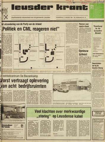 Leusder Krant 1985-01-17