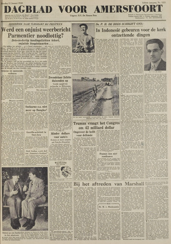 Dagblad voor Amersfoort 1949-01-11