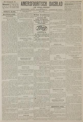 Amersfoortsch Dagblad / De Eemlander 1926-09-23