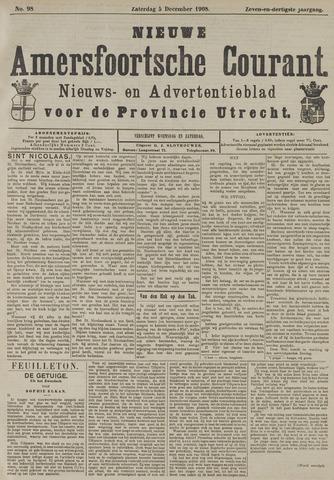 Nieuwe Amersfoortsche Courant 1908-12-05