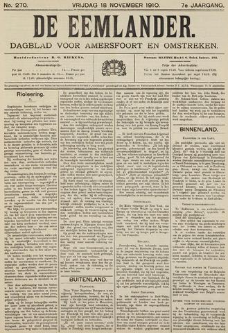 De Eemlander 1910-11-18
