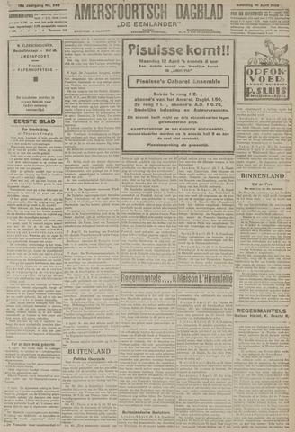 Amersfoortsch Dagblad / De Eemlander 1920-04-10