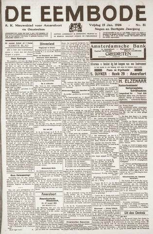 De Eembode 1926-01-15