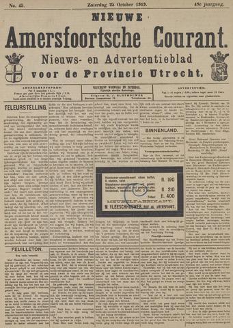 Nieuwe Amersfoortsche Courant 1919-10-25