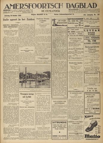 Amersfoortsch Dagblad / De Eemlander 1935-10-26