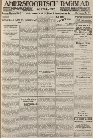Amersfoortsch Dagblad / De Eemlander 1934-08-09
