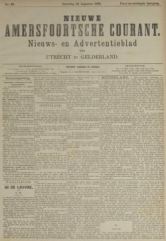 Nieuwe Amersfoortsche Courant 1893-08-26