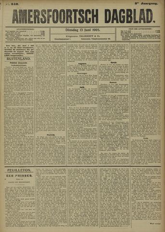 Amersfoortsch Dagblad 1905-06-13