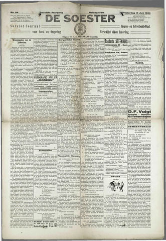 Soester Courant 1924-06-14