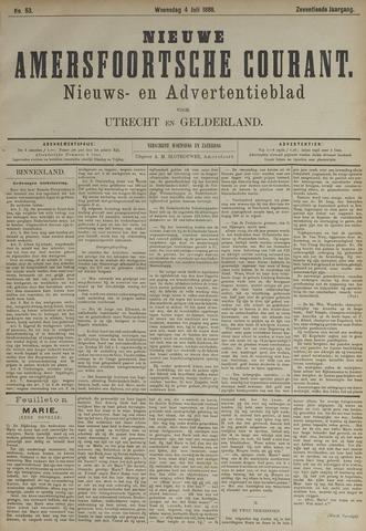Nieuwe Amersfoortsche Courant 1888-07-04