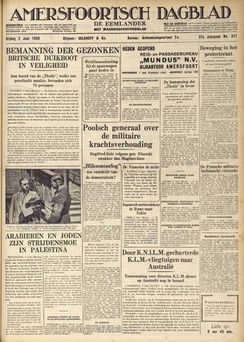 Amersfoortsch Dagblad / De Eemlander 1939-06-02