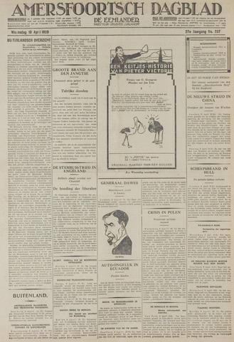 Amersfoortsch Dagblad / De Eemlander 1929-04-10