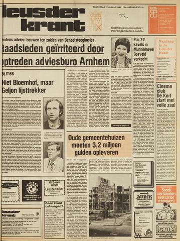 Leusder Krant 1982-01-21